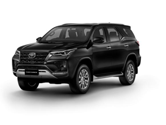 Toyota Fortuner 2021 màu Đen
