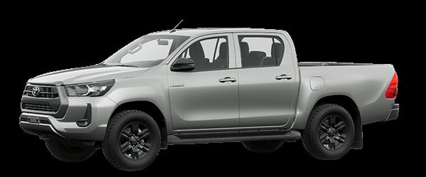 Toyota Hilux 2021 màu bạc 1D6
