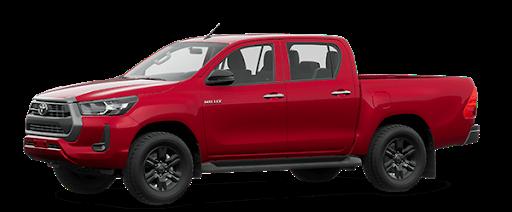 Toyota Hilux 2021 màu đỏ 3T6