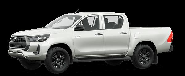 Toyota Hilux 2021 màu trắng ngọc trai 070