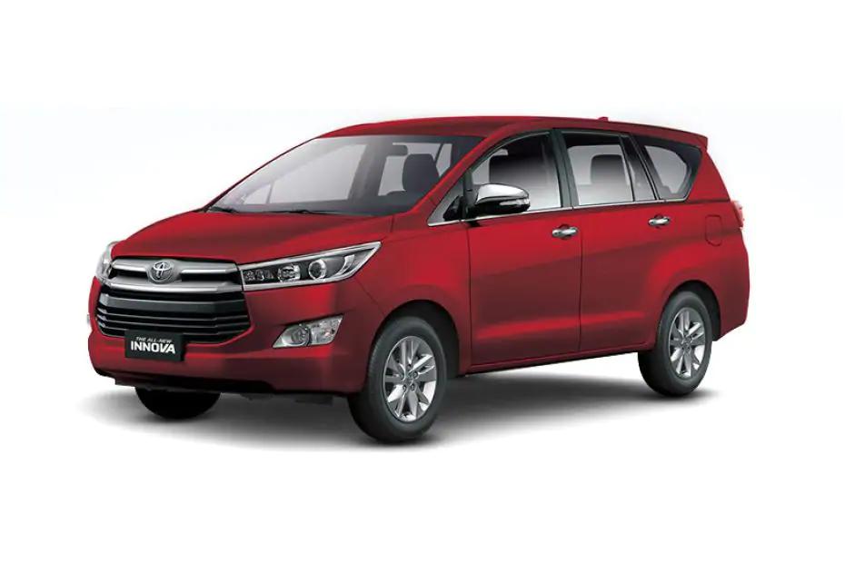 Toyota Innova 2021 màu đỏ