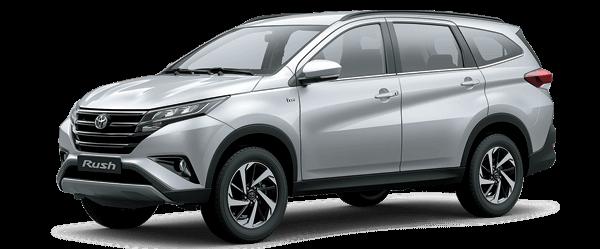 Toyota Rush 2021 màu bạc
