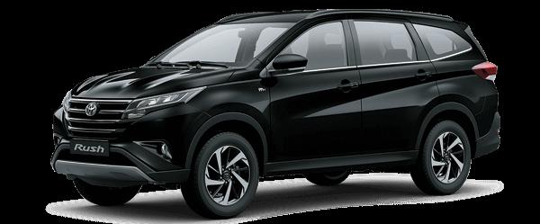 Toyota Rush 2021 màu đen