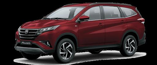 Toyota Rush 2021 màu đỏ