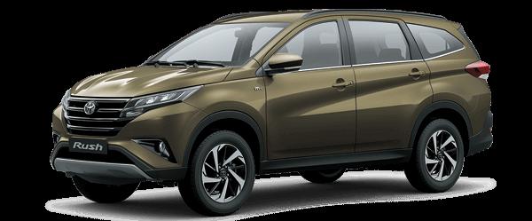 Toyota Rush 2021 màu đồng