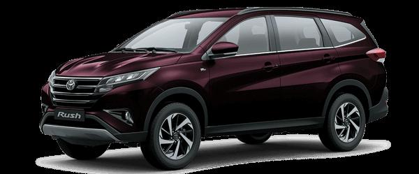 Toyota Rush 2021 màu nâu