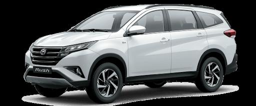 Toyota Rush 2021 màu trắng