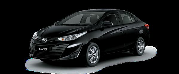 Toyota Vios 2021 màu đen