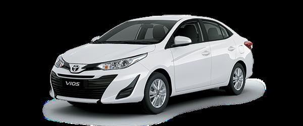 Toyota Vios 2021 màu trắng
