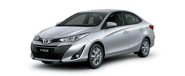 Toyota Vios 2021 màu xám