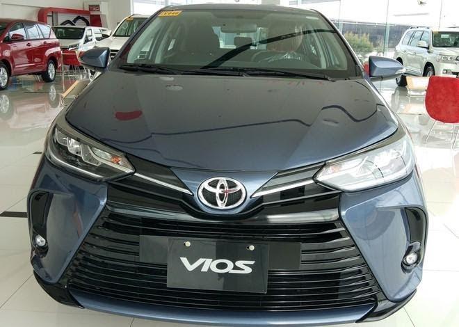 Phiên bản Toyota Vios 2021.