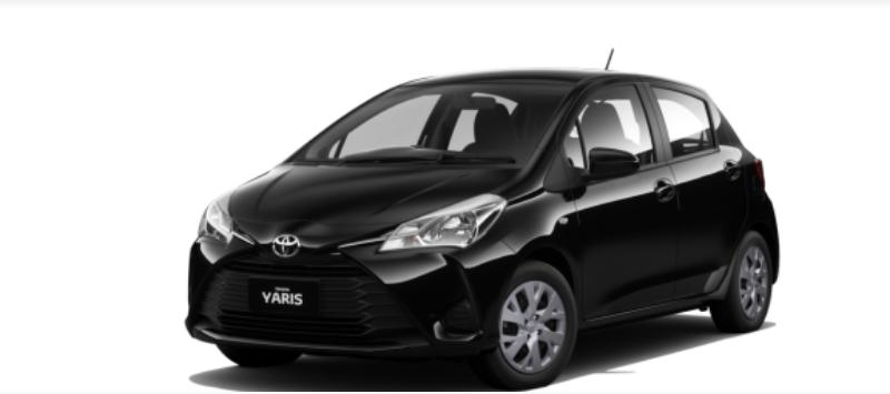 Toyota Yaris 2021 màu Đen