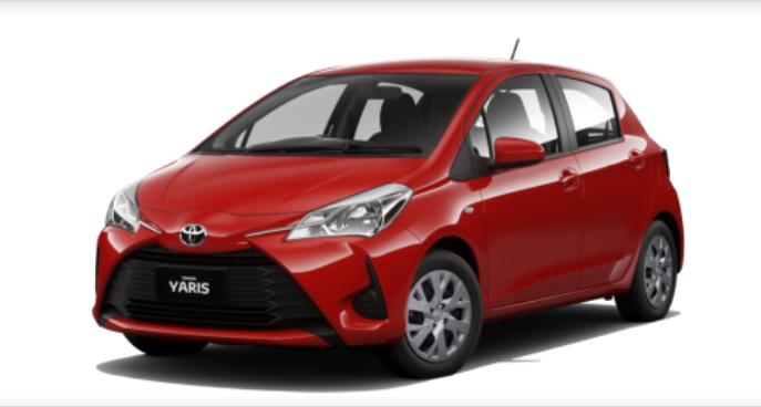 Toyota Yaris 2021 màu Đỏ