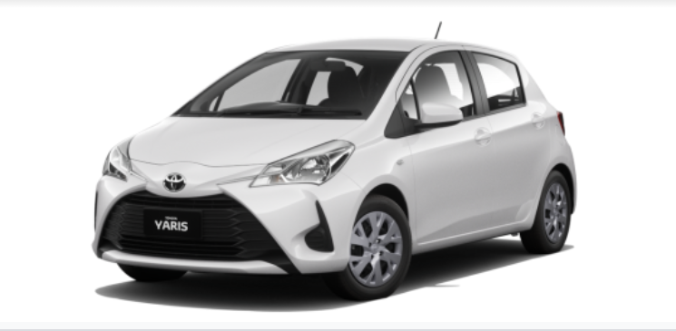 Toyota Yaris 2021 màu Trắng