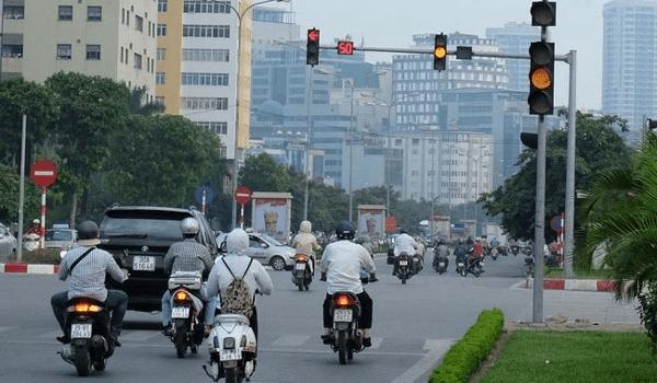 Những quy định mới về quy tắc của đèn giao thông.