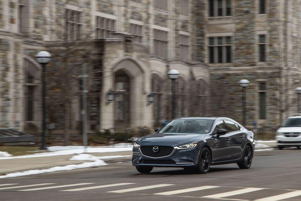 Đánh giá xe Mazda 6 2021 về trang bị an toàn