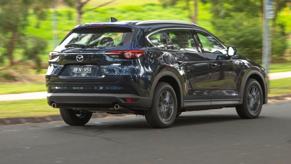 Đánh giá xe Mazda CX-8 2021 về trang bị an toàn