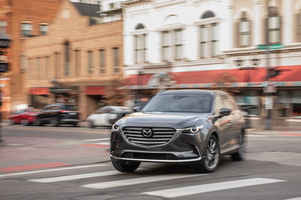 Đánh giá xe Mazda CX-9 năm 2021 về trang bị an toàn
