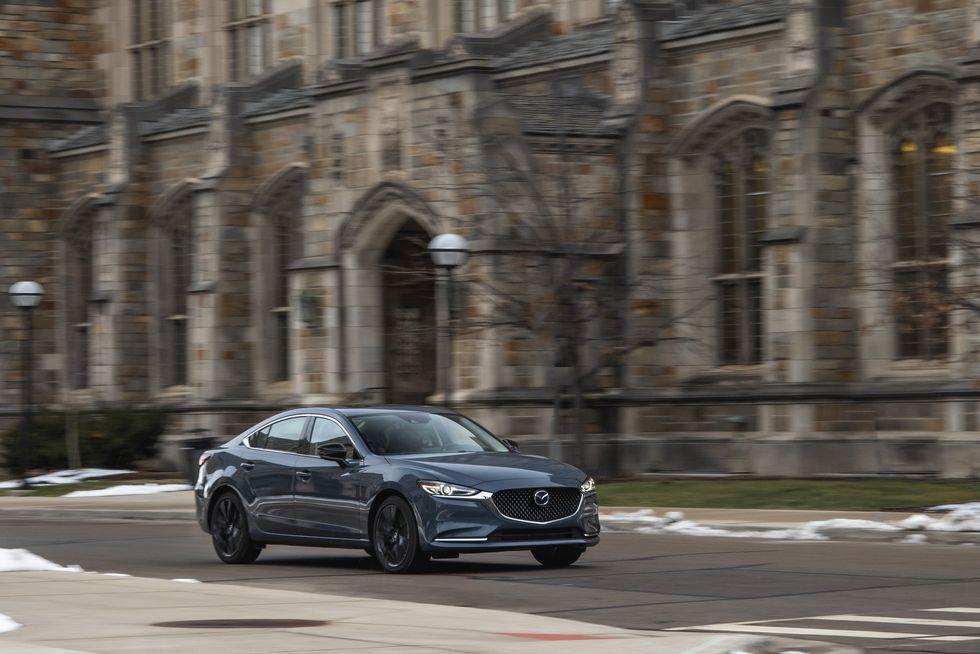 Đánh giá Mazda 6 2021 về cảm giác lái