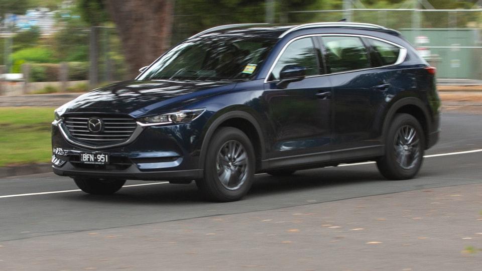 Đánh giá xe Mazda CX-8 2021 về cảm giác lái