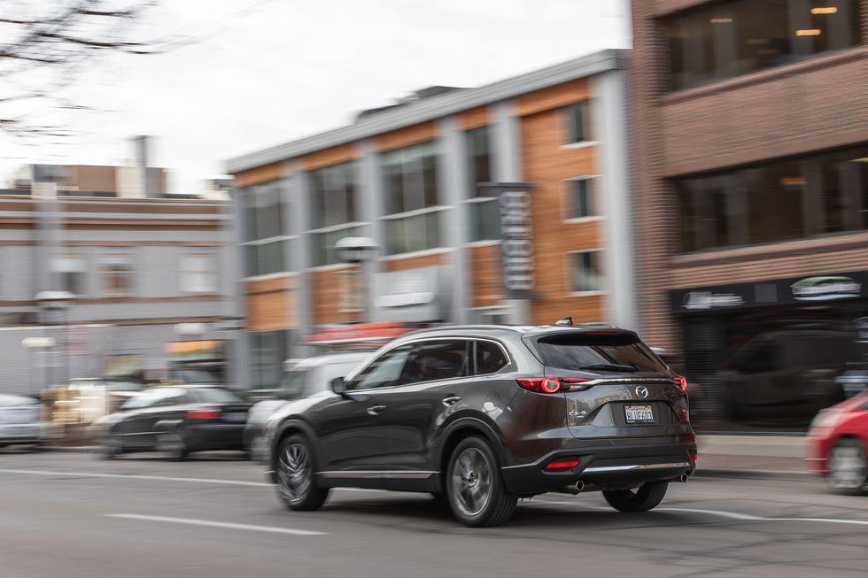 Đánh giá xe Mazda CX-9 năm 2021 về cảm giác lái