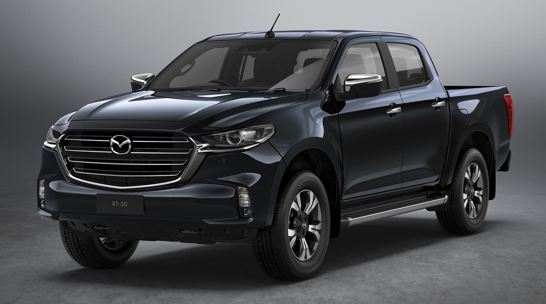 Đầu xe mang phong cách hầm hố, hiện đại khá tương đồng với SUV CX-8 2021.
