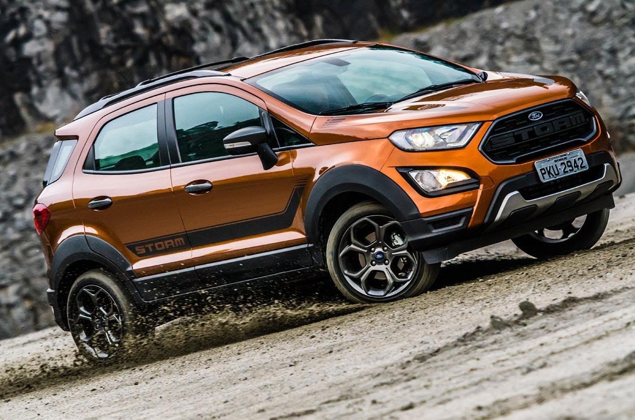"""Ford Ecosport sở hữu khối động cơ mạnh mẽ, """"chinh phục"""" mọi địa hình"""