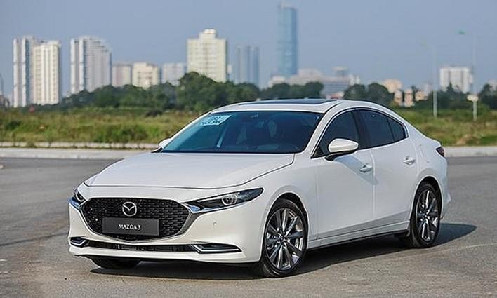 Bảng xe ô tô Mazda 3 2021