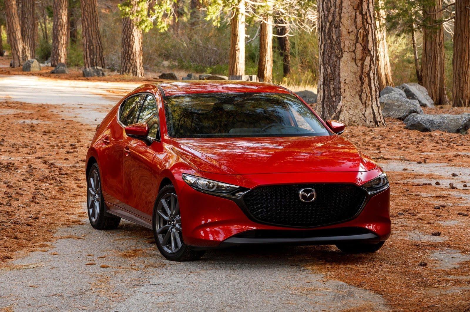 Mazda 3 2021 đẹp hút hồn thu hút mọi ánh nhìn