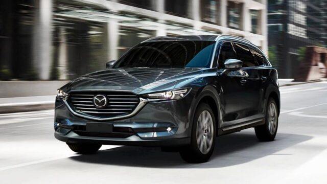 Mazda CX-8 2021 sở hữu thiết kế sang trọng, hiện đại