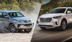 So sánh Hyundai Santafe và Fortuner: Mẫu xe nào hợp với bạn hơn