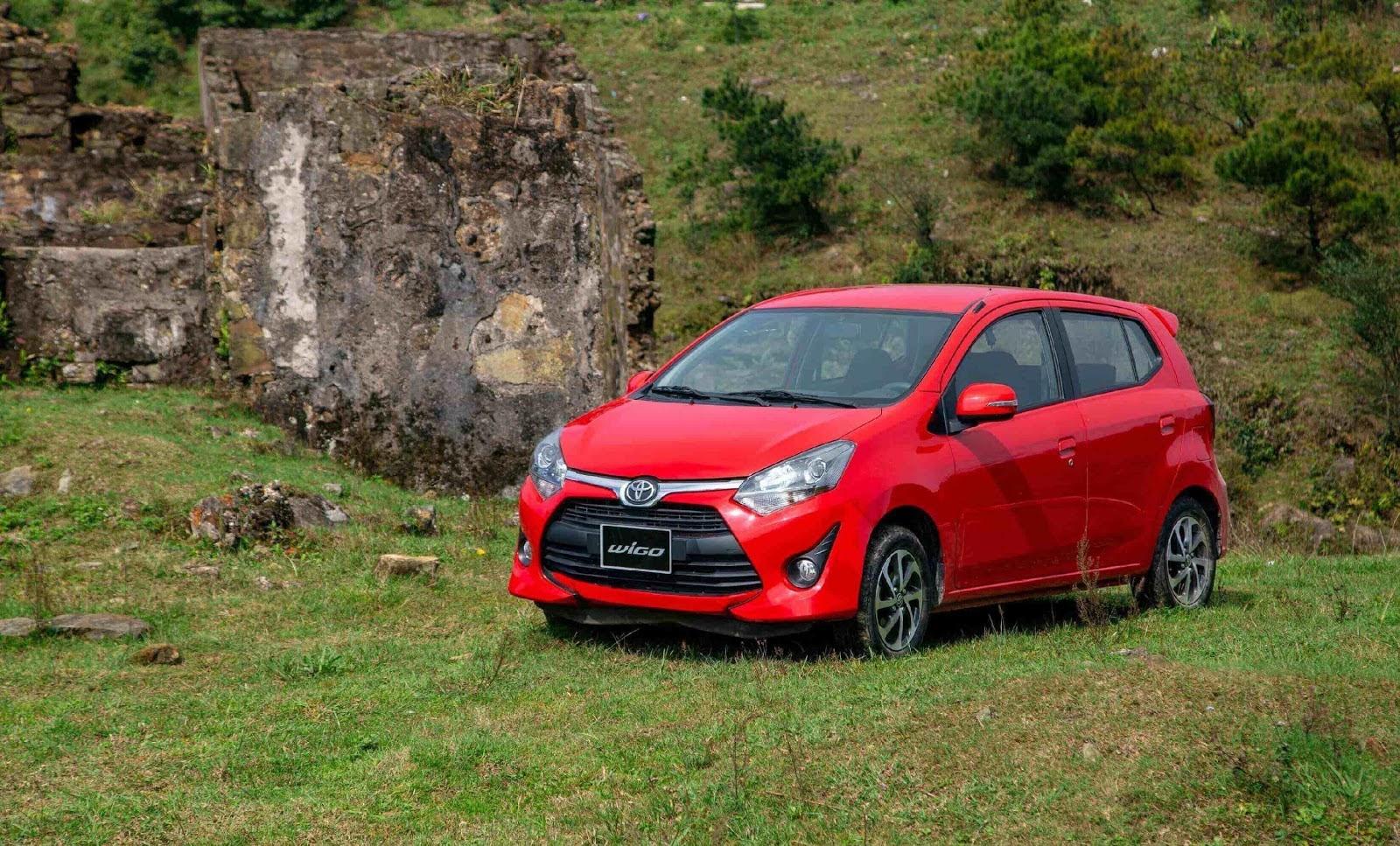 Toyota Wigo đem đến sự vận hành ổn định, linh hoạt dù trên địa hình gồ ghề.