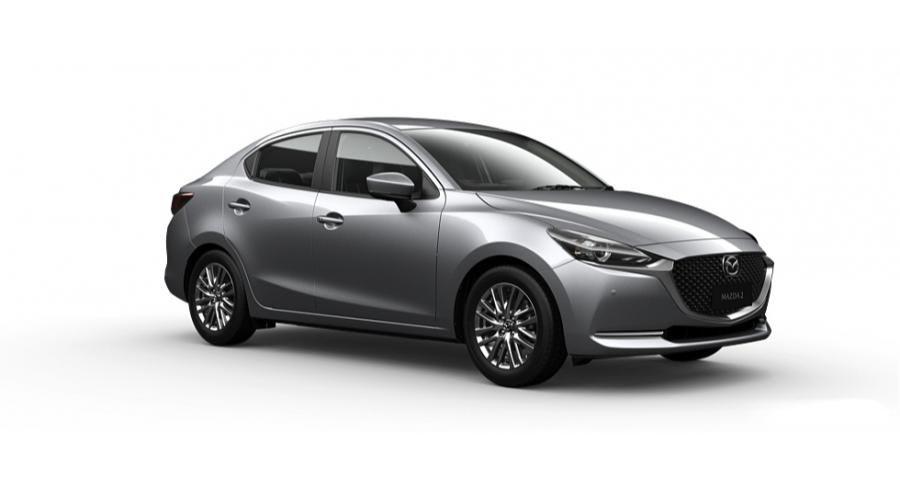 Mazda 2 2021 màu bạc