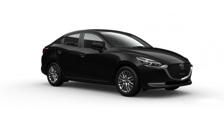 Mazda 2 2021 màu đen