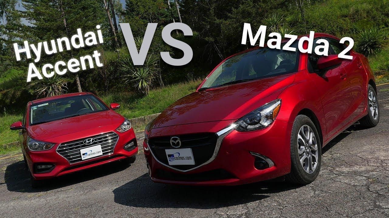 So sánh Mazda 2 và Hyundai Accent
