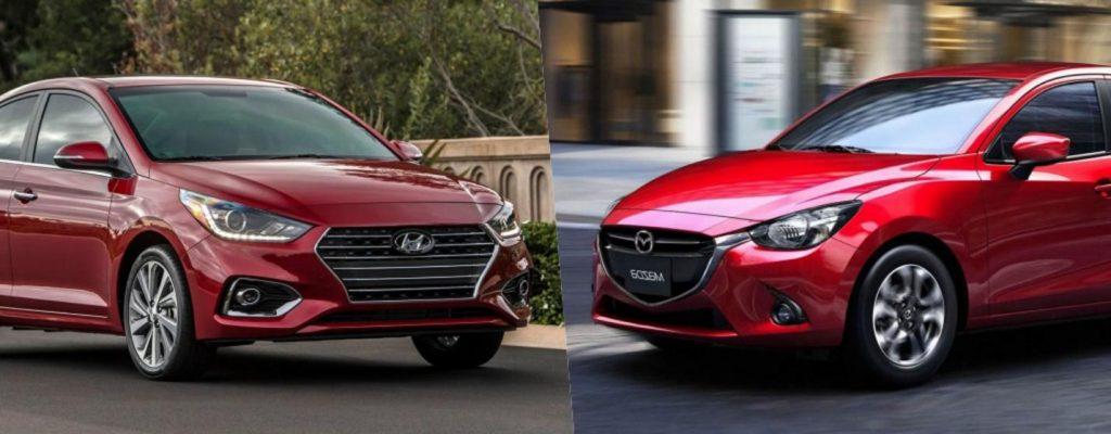 So sánh Mazda 2 và Hyundai Accent về thiết kế ngoại thất