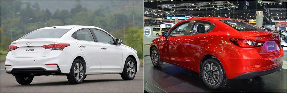 Nên chọn Sedan Nhật hay Hàn trong tầm giá 550 triệu?