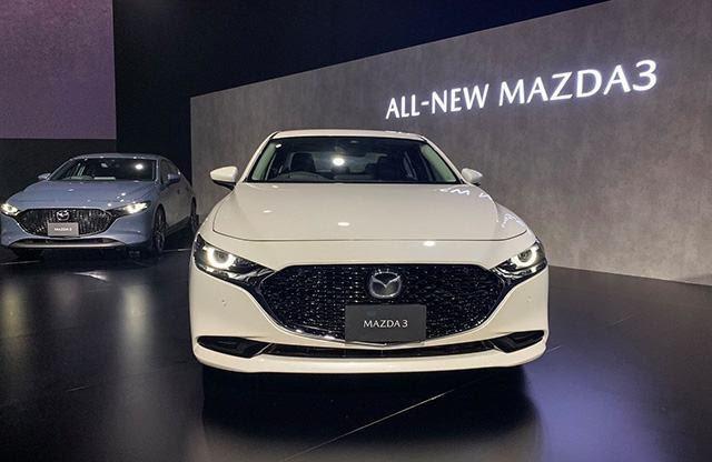 Mazda 3 2021 màu trắng