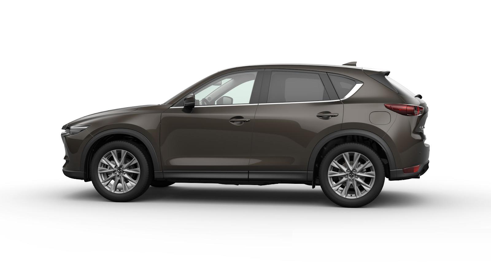 Mazda CX-5 2021 màu nâu