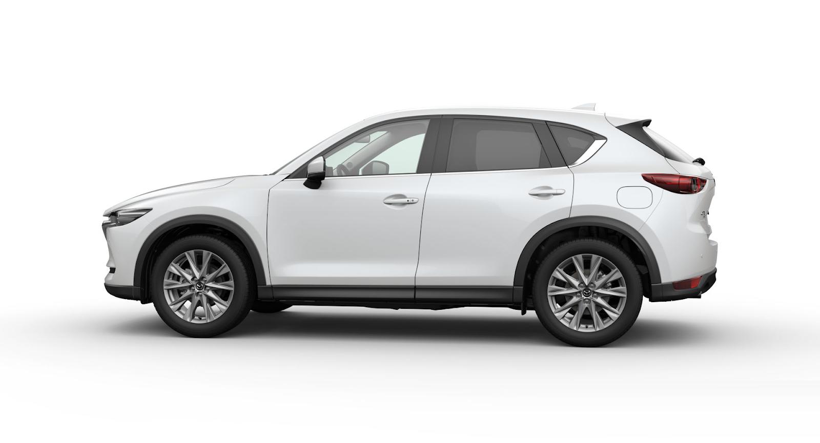 Mazda CX-5 2021 màu trắng