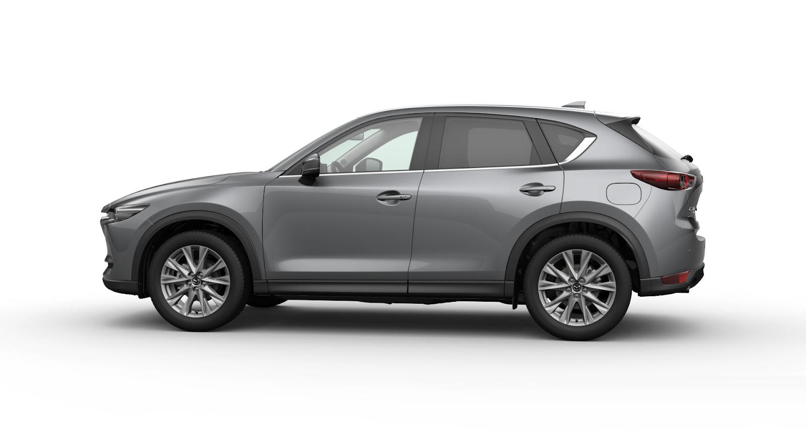 Mazda CX-5 2021 màu xám