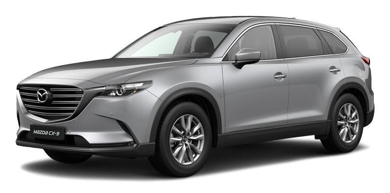 Mazda CX-9 2021 màu bạc
