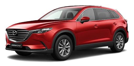 Mazda CX-9 2021 màu đỏ