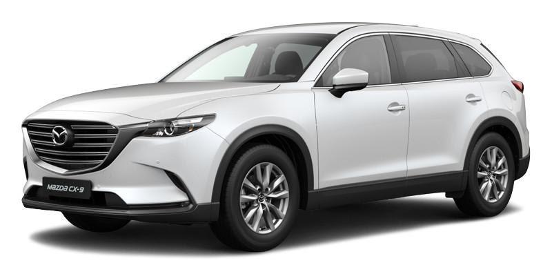 Mazda CX-9 2021 màu trắng