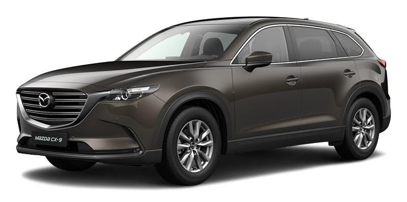 Mazda CX-9 2021 màu xám