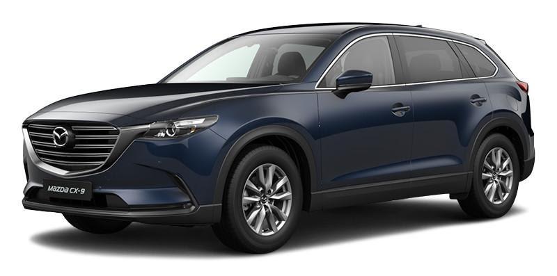 Mazda CX-9 2021 màu xanh