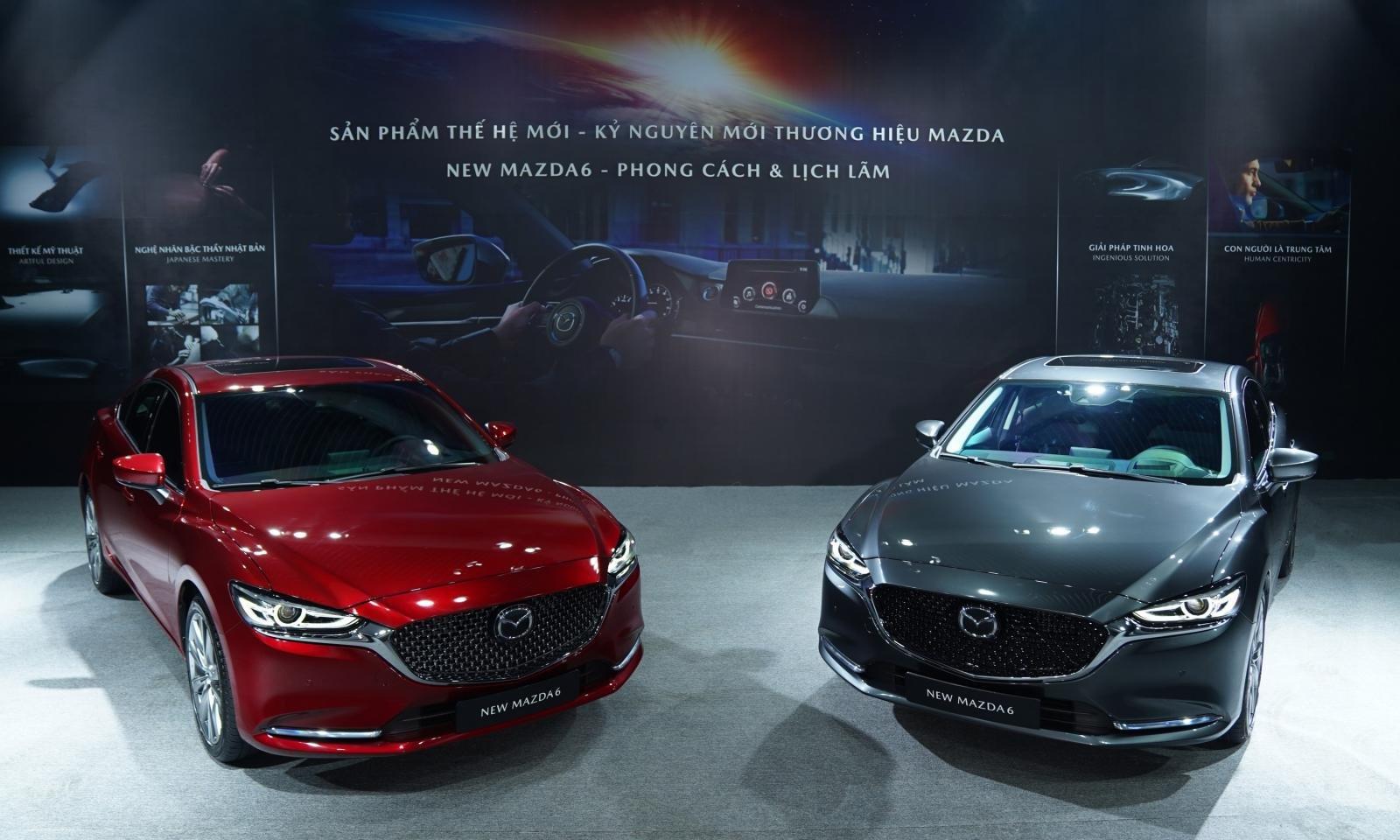 So sánh xe Mazda 6 với các đối thủ cùng phân khúc
