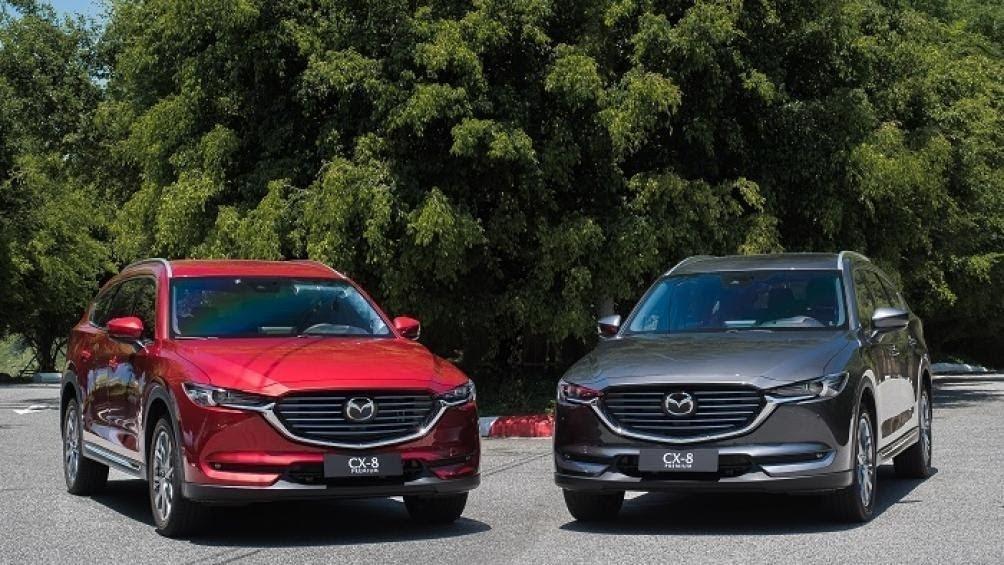 So sánh xe Mazda CX-8 2021 với các đối thủ