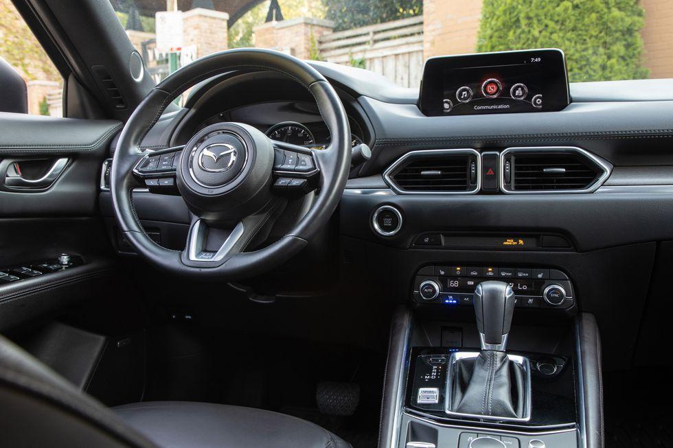 Đánh giá xe Mazda CX-5 2021 về tiện nghi