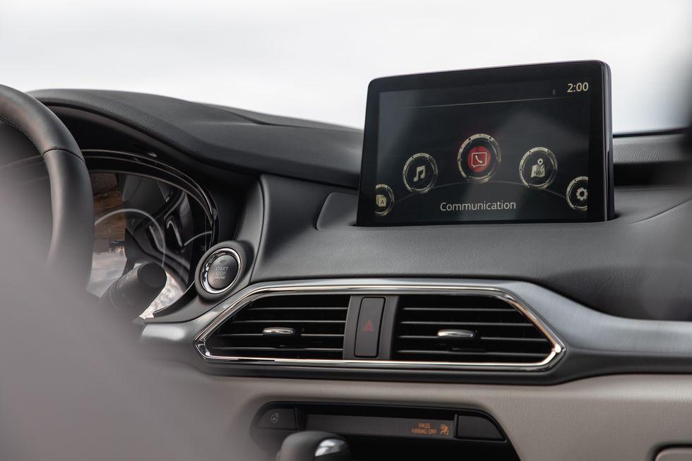 Đánh giá xe Mazda CX-9 năm 2021 về tiện nghi